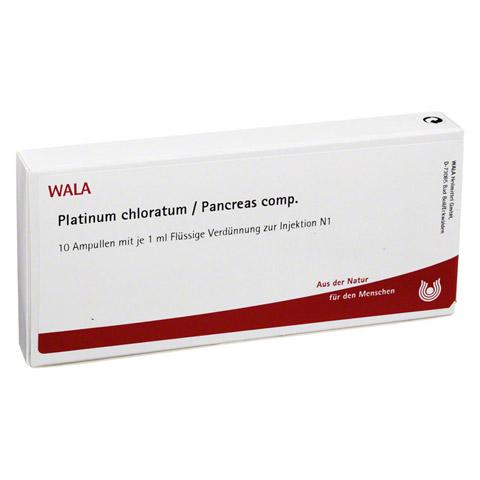 PLATINUM CHLORATUM/Pancreas comp.Ampullen 10x1 Milliliter N1
