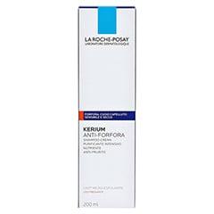 ROCHE POSAY Kerium trockene Haut Cremeshampoo 200 Milliliter - Rückseite