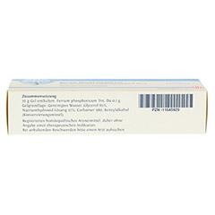 BIOCHEMIE DHU 3 Ferrum phosphoricum D 4 Gel 50 Gramm N1 - Unterseite