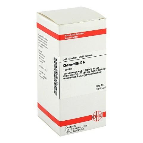 CHAMOMILLA D 6 Tabletten 200 Stück N2