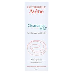 AVENE Cleanance MAT mattierende Emulsion 40 Milliliter - Rückseite