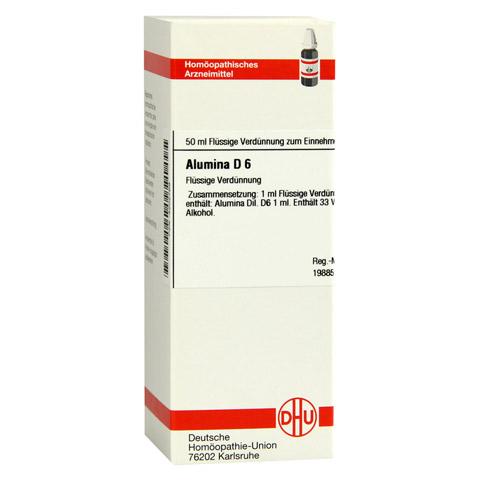 ALUMINA D 6 Dilution 50 Milliliter N1