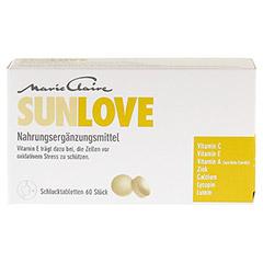MARIE Claire Sunlove Tabletten 60 St�ck - Vorderseite