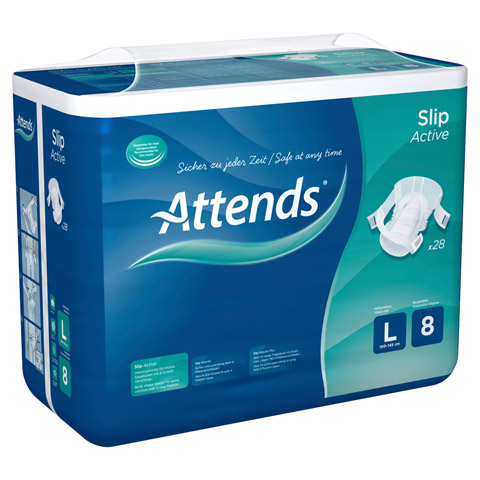ATTENDS Slip Active 8 large 28 Stück