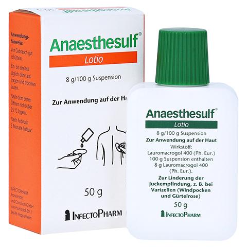 Anaesthesulf Lotio 50 Gramm N2