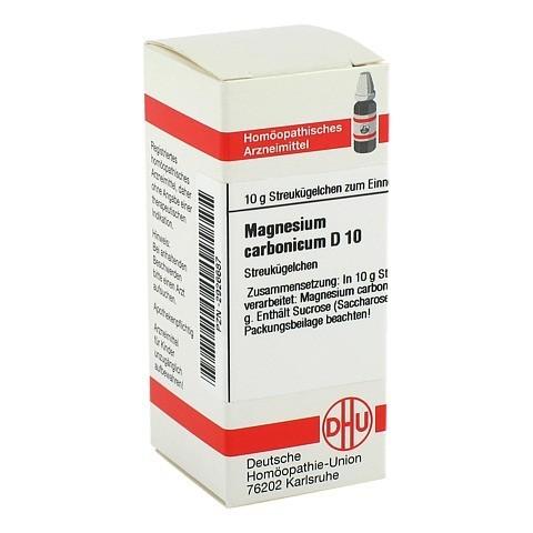 MAGNESIUM CARBONICUM D 10 Globuli 10 Gramm N1