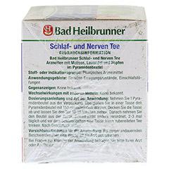BAD HEILBRUNNER Tee Schlaf- und Nerven Pyram.btl. 15 Stück - Rechte Seite