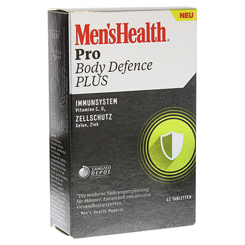 MEN'S HEALTH Pro Body Defence Plus Tabletten 42 Stück
