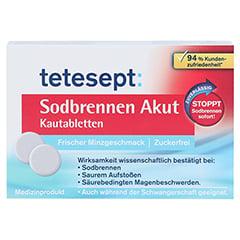 TETESEPT Sodbrennen Akut Kautabletten 20 St�ck - Vorderseite