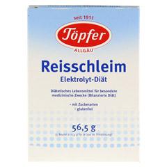 TÖPFER Reisschleim Elektrolyt Diät Pulver 5 Stück - Vorderseite