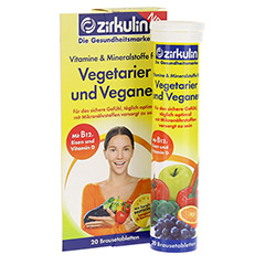 ZIRKULIN Vitamine u.Mineralst.f.Vegetarier+Veganer 20 St�ck