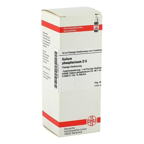 KALIUM PHOSPHORICUM D 6 Dilution 50 Milliliter N1