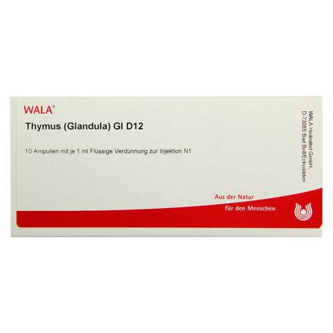 THYMUS GLANDULA GL D 12 Ampullen 10x1 Milliliter N1