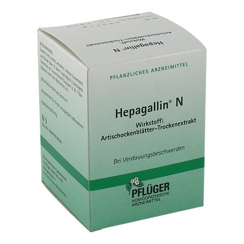 Hepagallin N 100 Stück