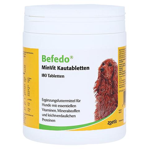 BEFEDO MinVit Kautabletten f.Hunde 180 Stück