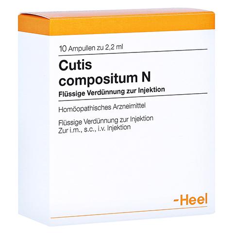 CUTIS compositum N Ampullen 10 Stück N1