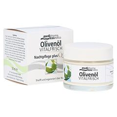 OLIVENÖL vitalfrisch Nachtpflege Creme 50 Milliliter