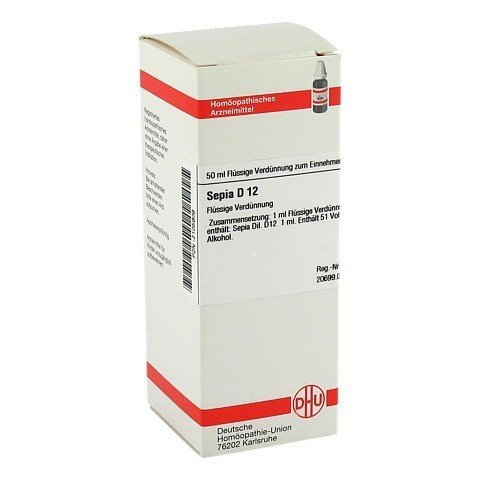 SEPIA D 12 Dilution 50 Milliliter N1