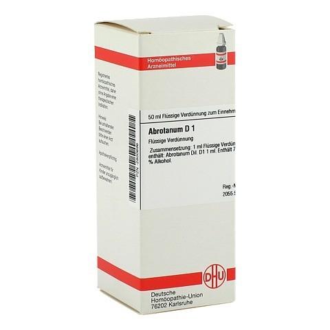 ABROTANUM D 1 Dilution 50 Milliliter N1