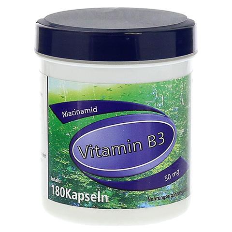 VITAMIN B3 Niacinamid 50 mg Gerimed Kapseln 180 St�ck