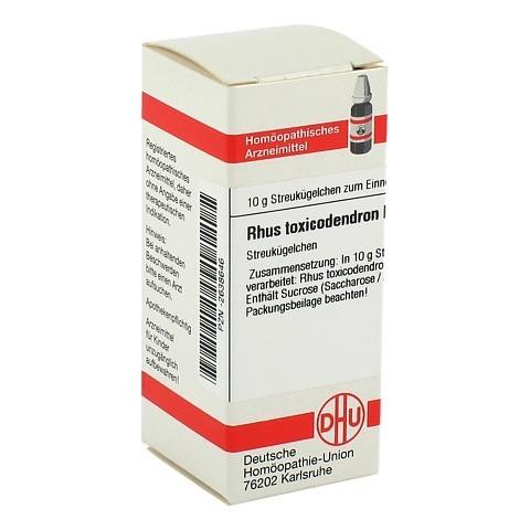 RHUS TOXICODENDRON D 10 Globuli 10 Gramm N1