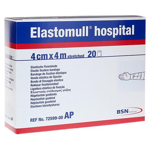 ELASTOMULL hospital 4 cmx4 m elast.Fixierb.wei� 20 St�ck