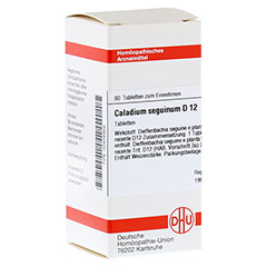 CALADIUM seguinum D 12 Tabletten 80 Stück N1
