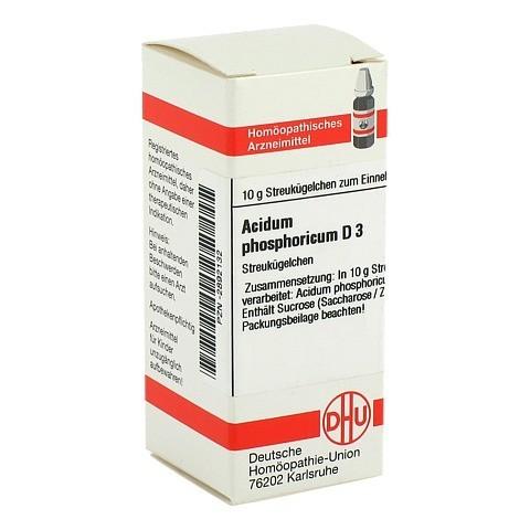 ACIDUM PHOSPHORICUM D 3 Globuli 10 Gramm N1