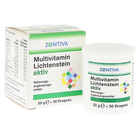 MULTIVITAMIN LICHTENSTEIN aktiv Dragees 50 Stück