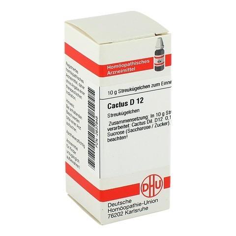 CACTUS D 12 Globuli 10 Gramm N1