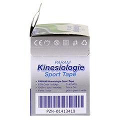 KINESIOLOGIE Sport Tape 5 cmx5 m grün 1 Stück - Linke Seite