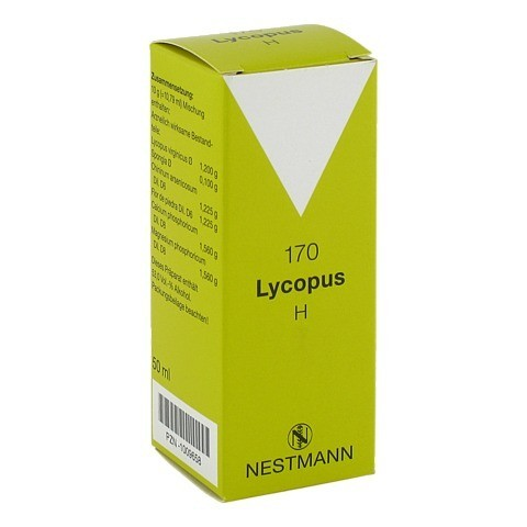LYCOPUS H Nr.170 Tropfen 50 Milliliter N1