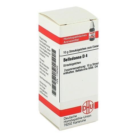 BELLADONNA D 4 Globuli 10 Gramm N1