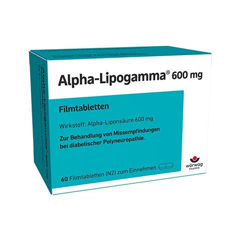Alpha-Lipogamma 600mg 60 St�ck N2