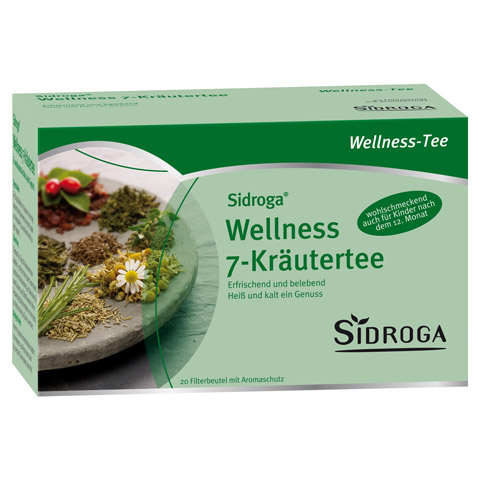 SIDROGA Wellness 7-Kr�utertee Filterbeutel 20 St�ck