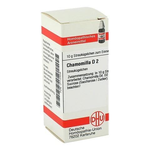 CHAMOMILLA D 2 Globuli 10 Gramm N1