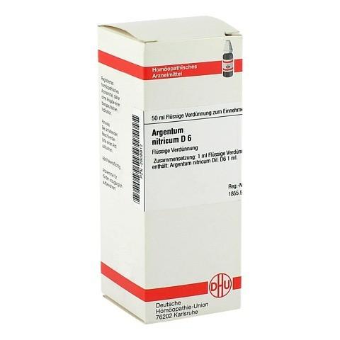 ARGENTUM NITRICUM D 6 Dilution 50 Milliliter N1