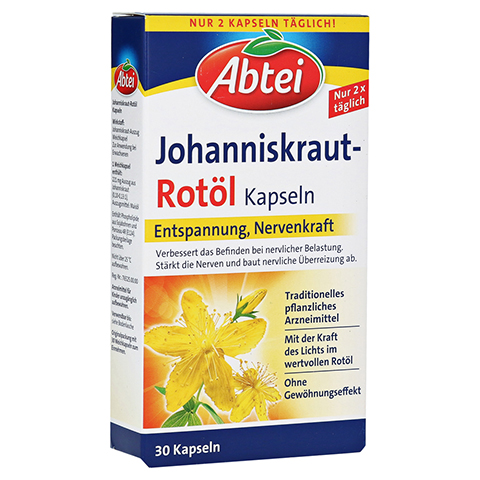 Abtei Johanniskraut Rot�l Kapseln 30 St�ck