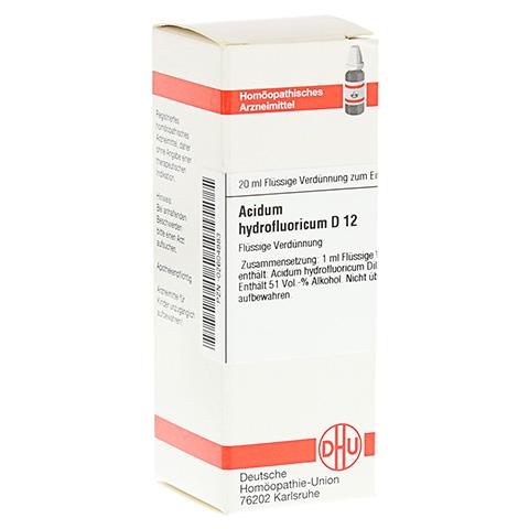 ACIDUM HYDROFLUORICUM D 12 Dilution 20 Milliliter N1