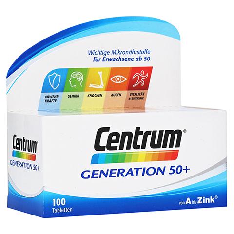 CENTRUM Gen.50+ A-Zink+FloraGlo Lutein Caplette 100 Stück