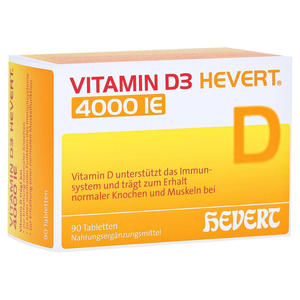 vitamin d3 hevert i e tabletten 90 st ck online. Black Bedroom Furniture Sets. Home Design Ideas