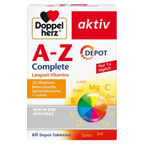 DOPPELHERZ A-Z Depot Tabletten 60 Stück