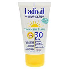 LADIVAL trockene Haut Creme f.d.Gesicht LSF 30 75 Milliliter