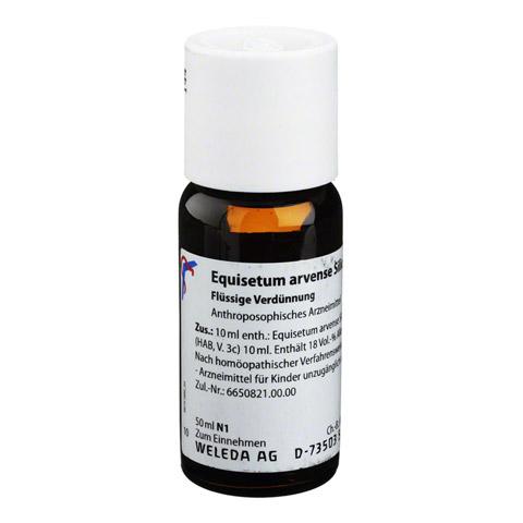 EQUISETUM ARVENSE Silicea cultum D 2 Dilution 50 Milliliter N1