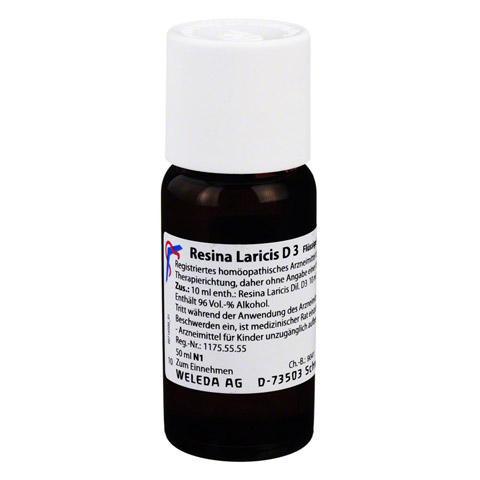 RESINA LARICIS D 3 Dilution 50 Milliliter N1