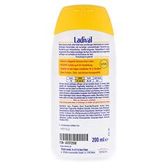 LADIVAL norm.bis empfindl.Haut Lotion LSF 15 200 Milliliter - Rückseite