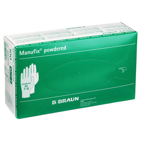 MANUFIX Unters.Handschuhe Latex gepud.mittel 100 St�ck