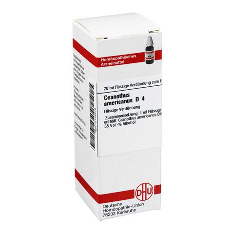 CEANOTHUS americanus D 4 Dilution 20 Milliliter N1