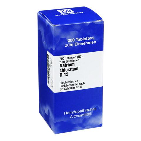 BIOCHEMIE 8 Natrium chloratum D 12 Tabletten 200 Stück N2