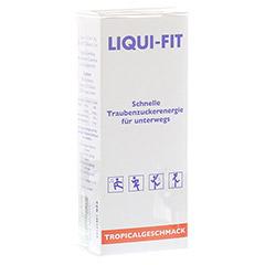 LIQUI FIT flüssige Zuckerlösung Tropical Beutel 12 Stück
